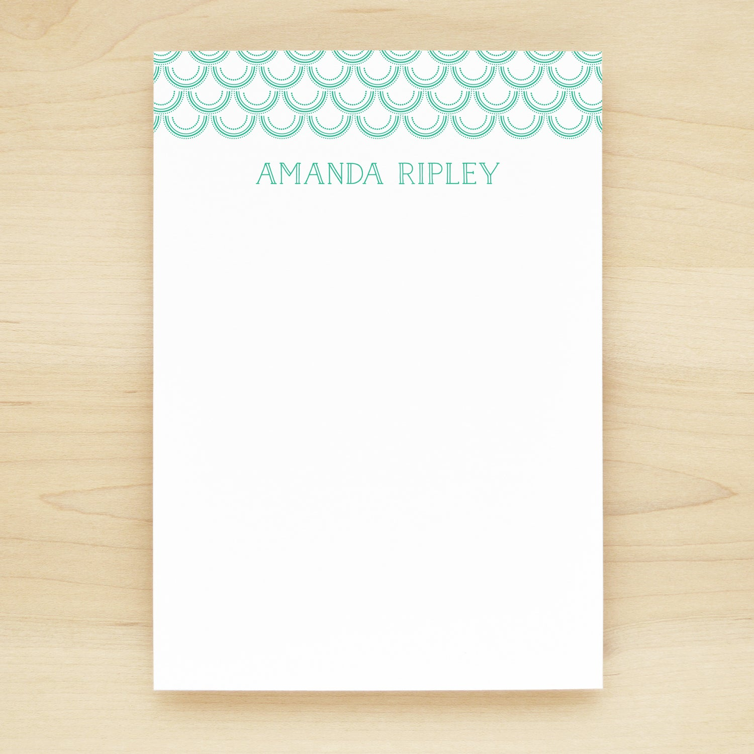 Mermaid Personalized Notepad