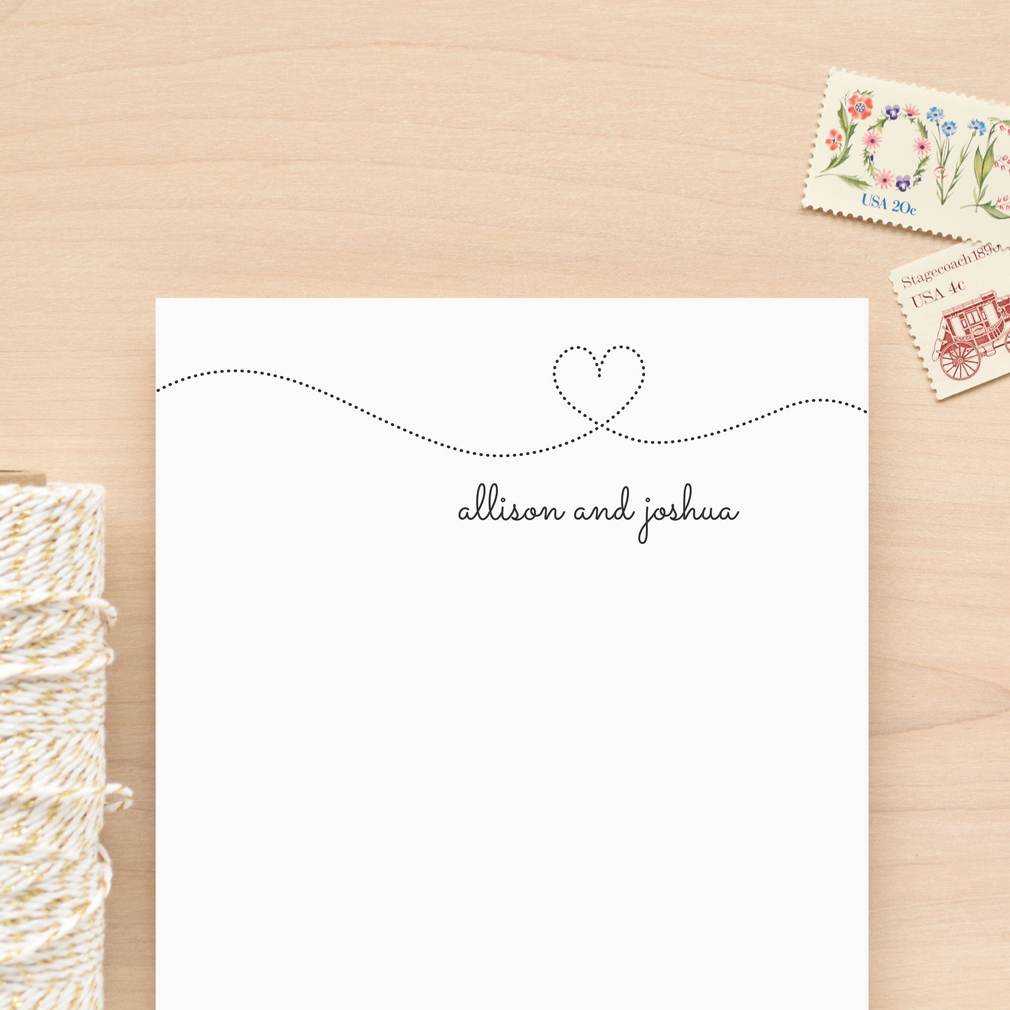 Smitten Personalized Notepad