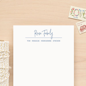 Suite Family Personalized Notepad