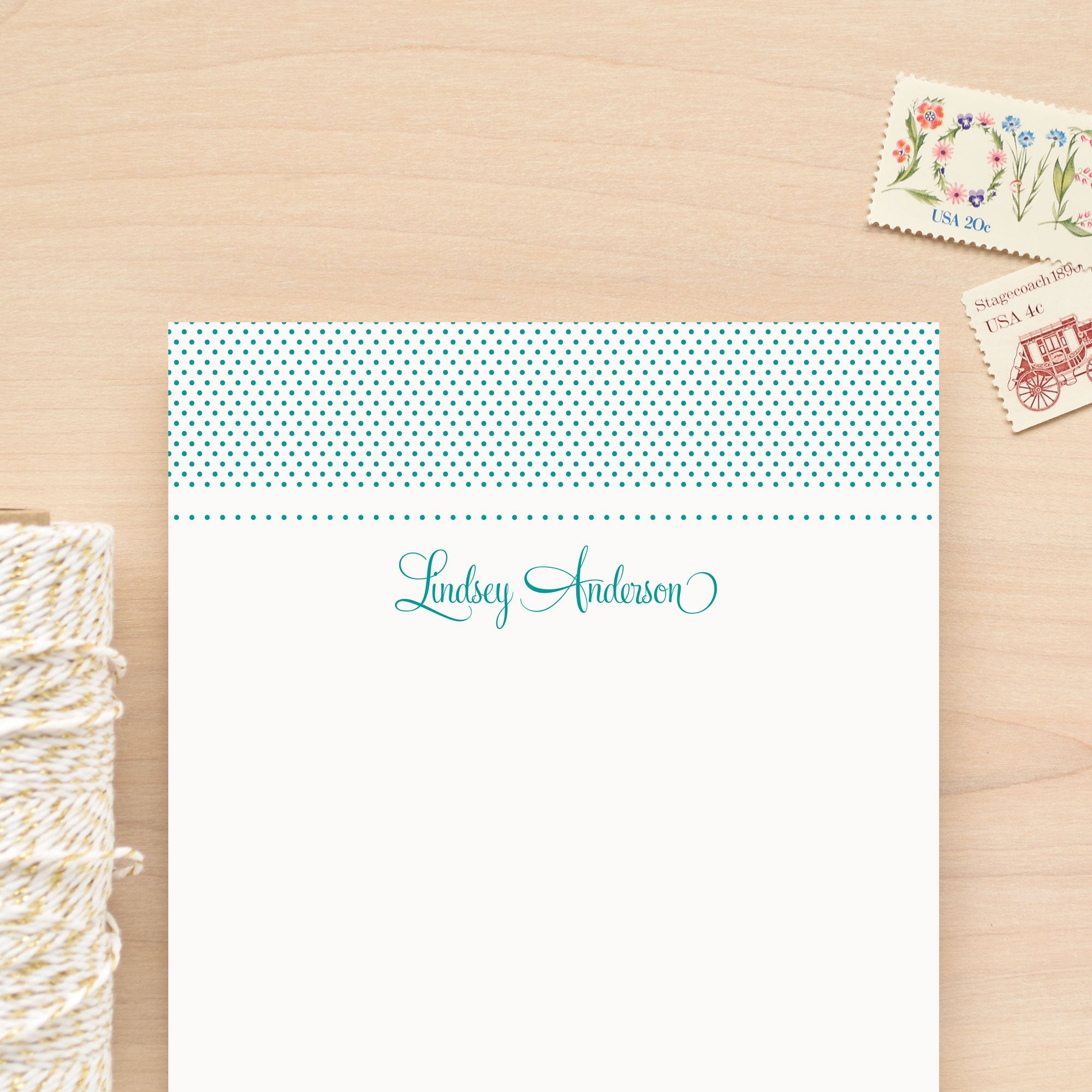 Sweetheart Personalized Notepad
