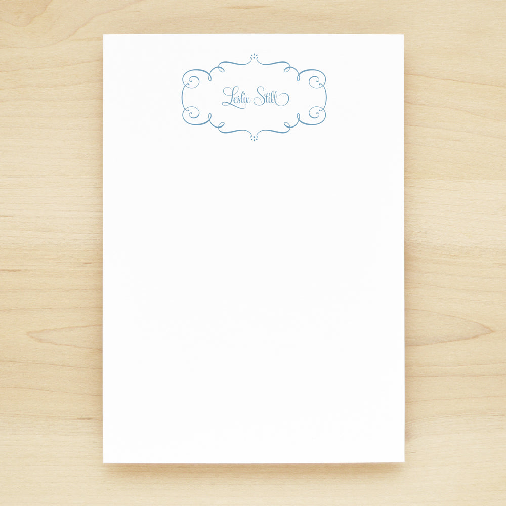 Twirl Personalized Notepad