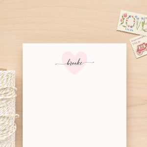Valentine Personalized Notepad