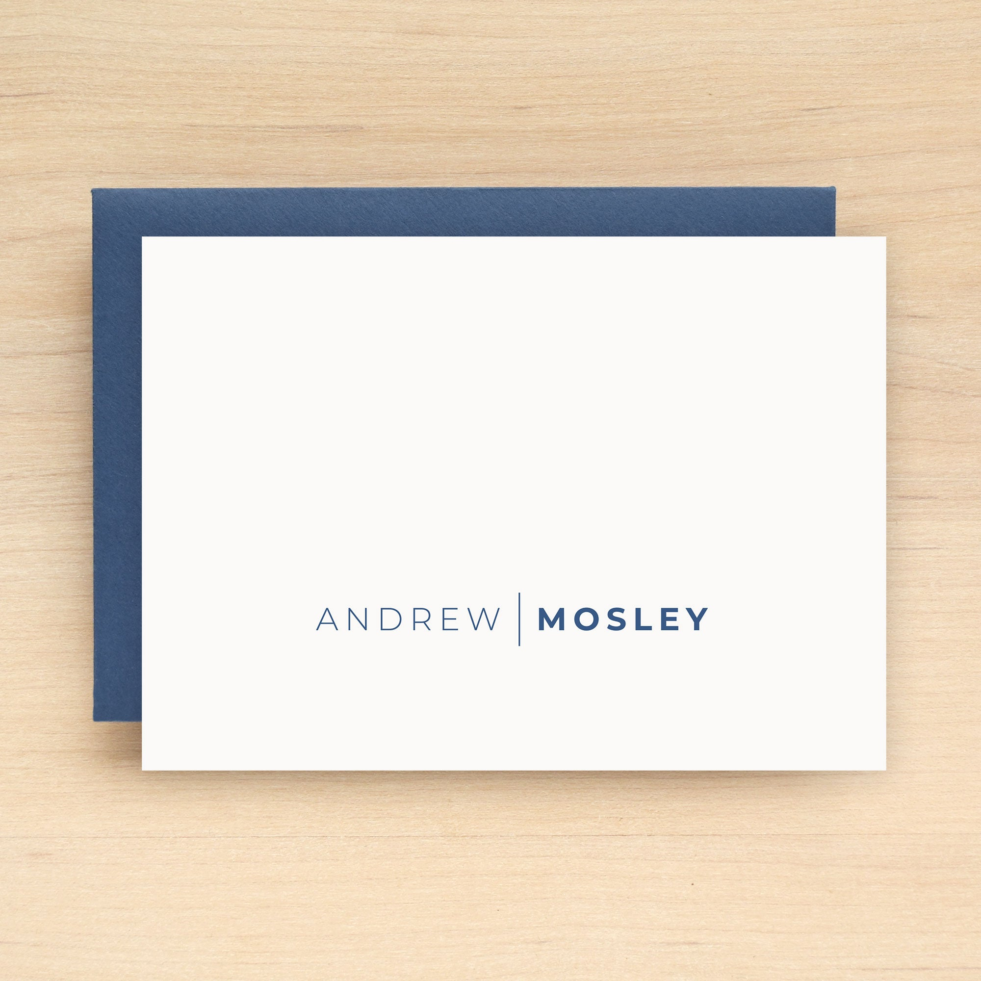 Ace Personalized Stationery