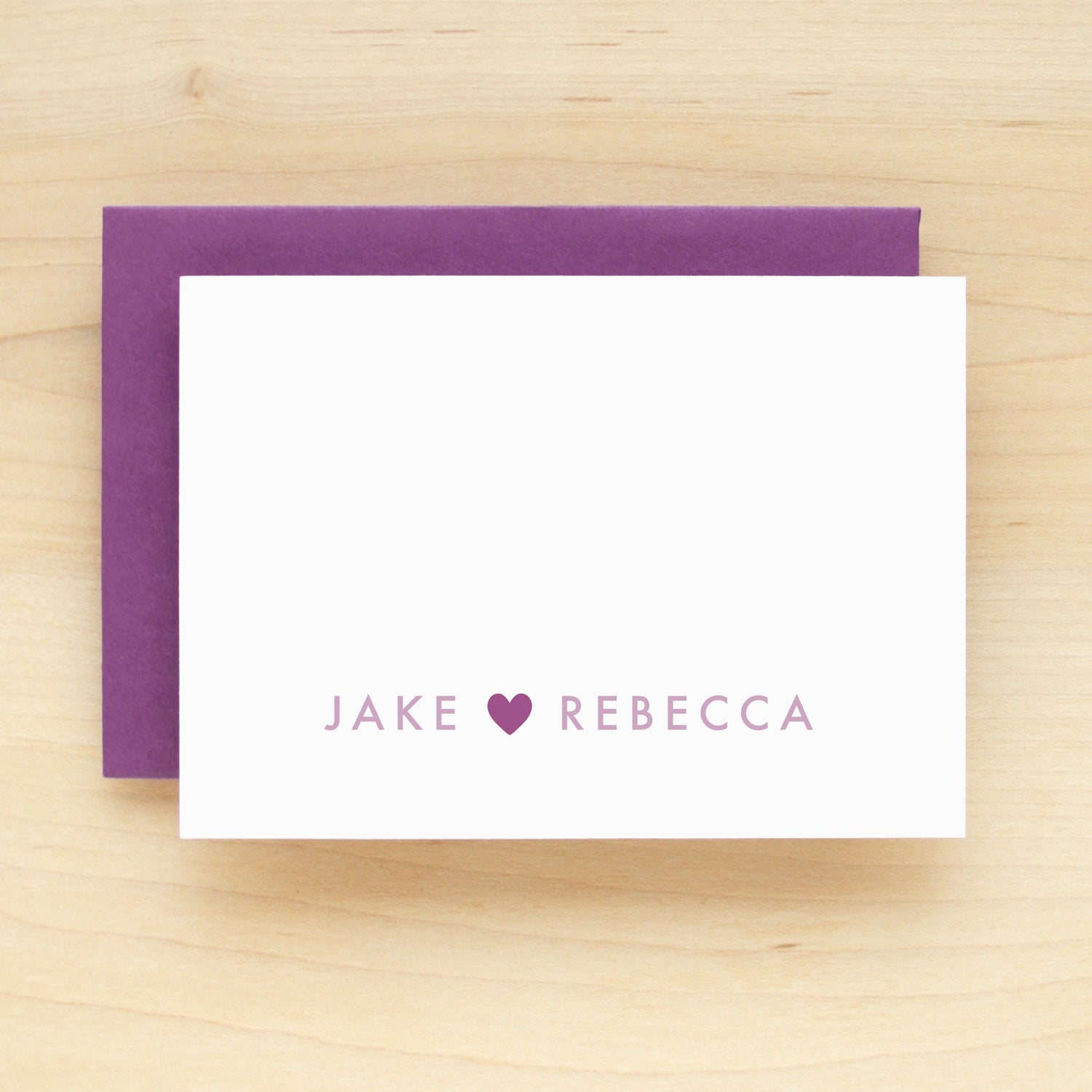 Adore Personalized Stationery