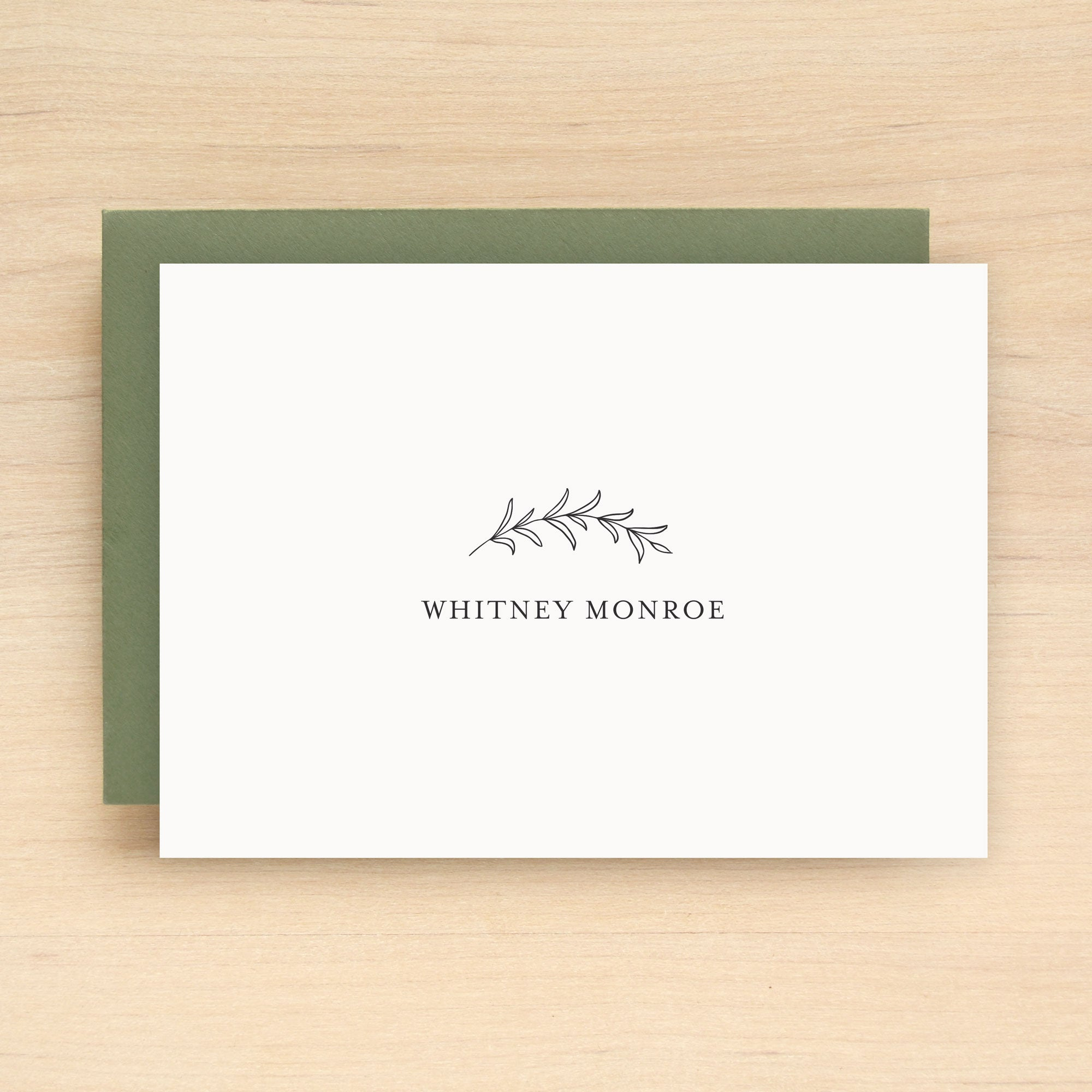 Autumn Personalized Stationery