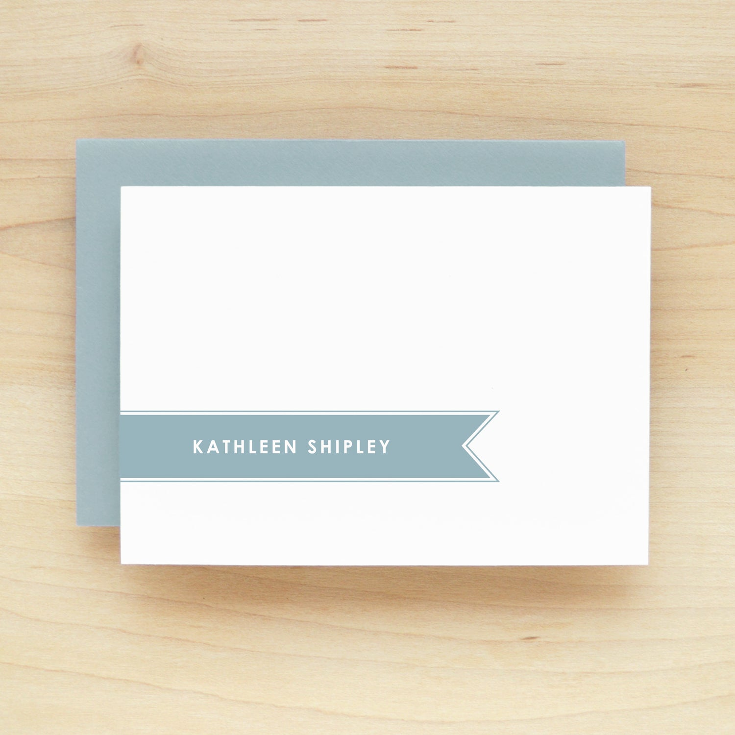 Banner Personalized Stationery Set