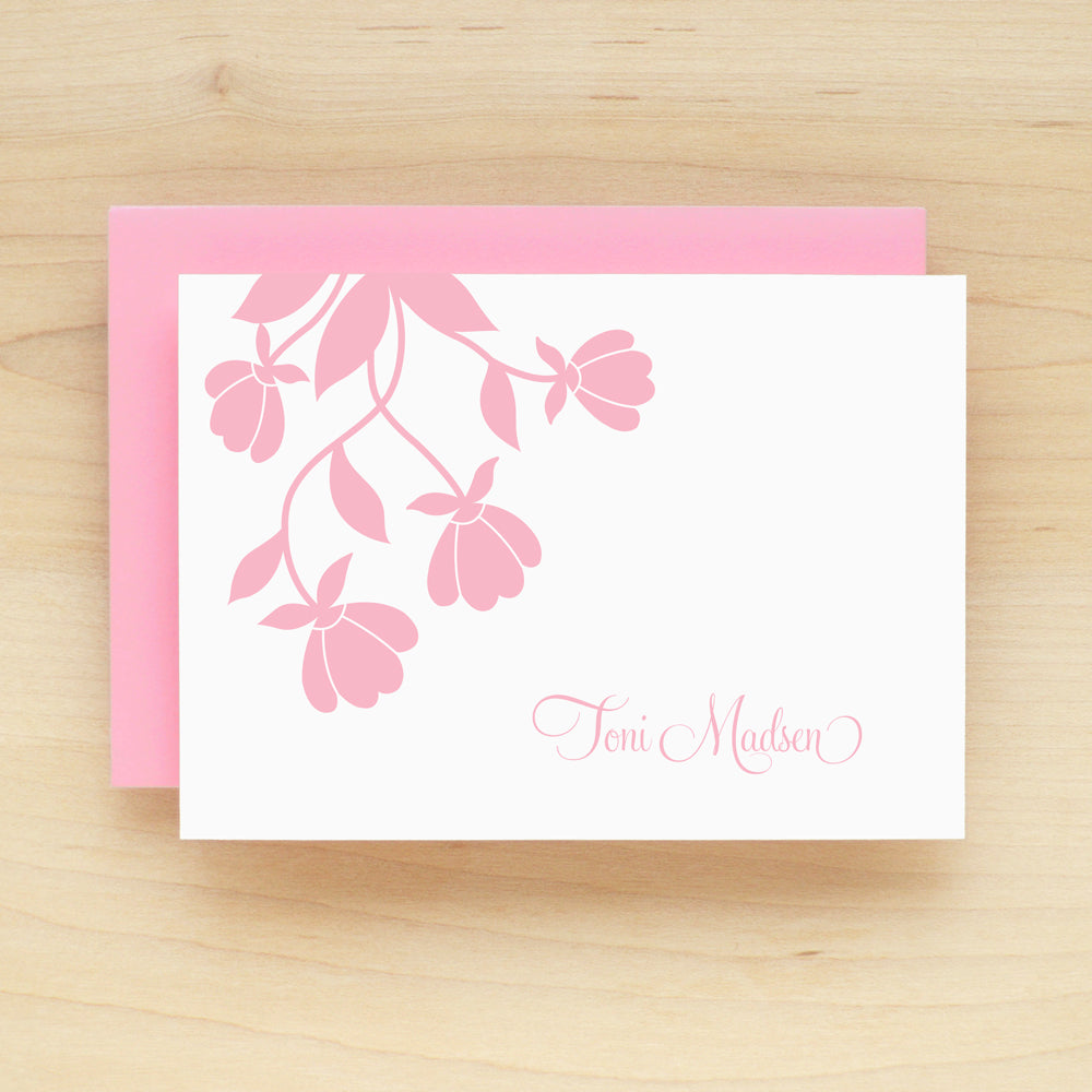 Blossom Personalized Stationery Set