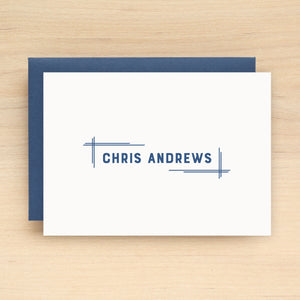 Blueprint Personalized Stationery