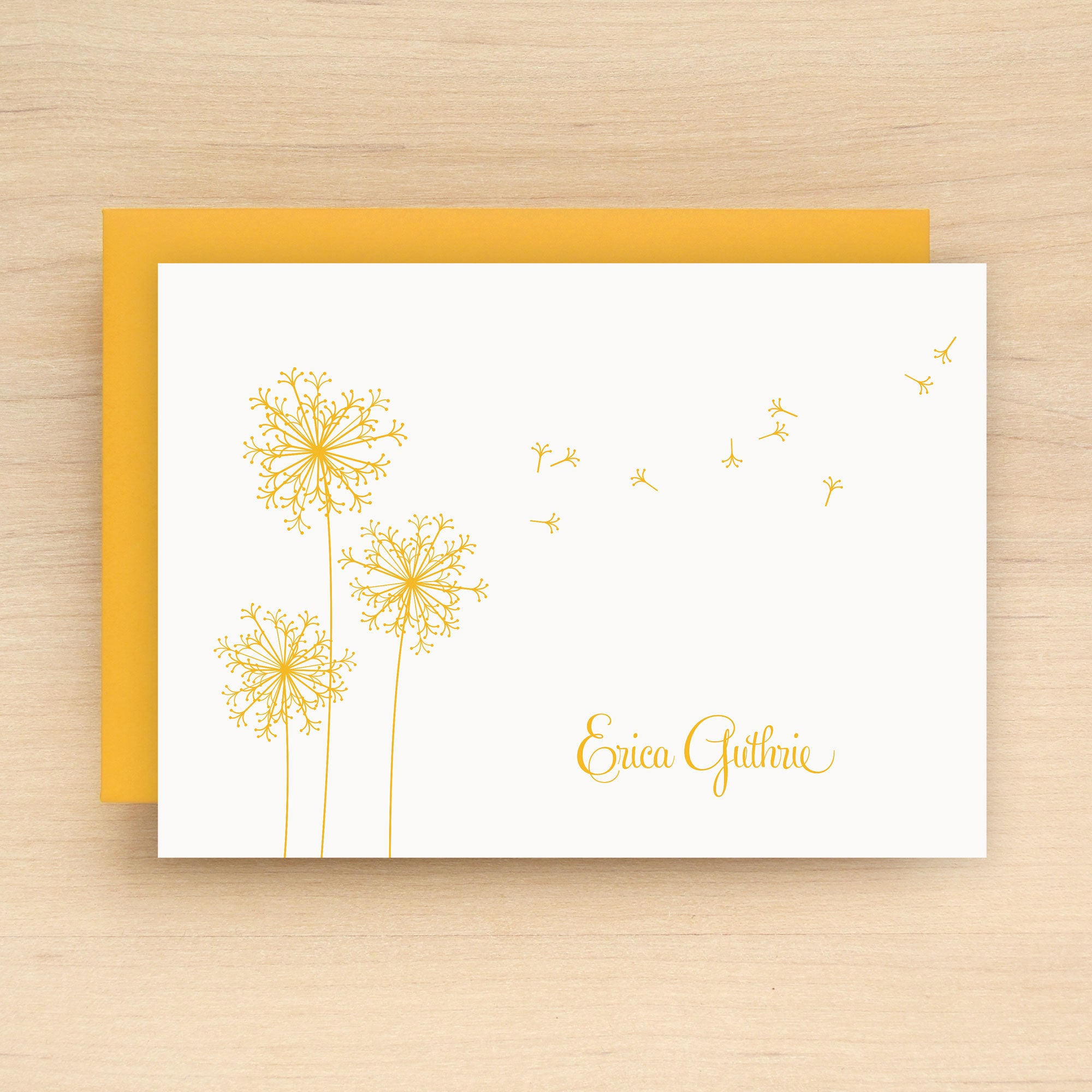 Breeze Personalized Stationery Set