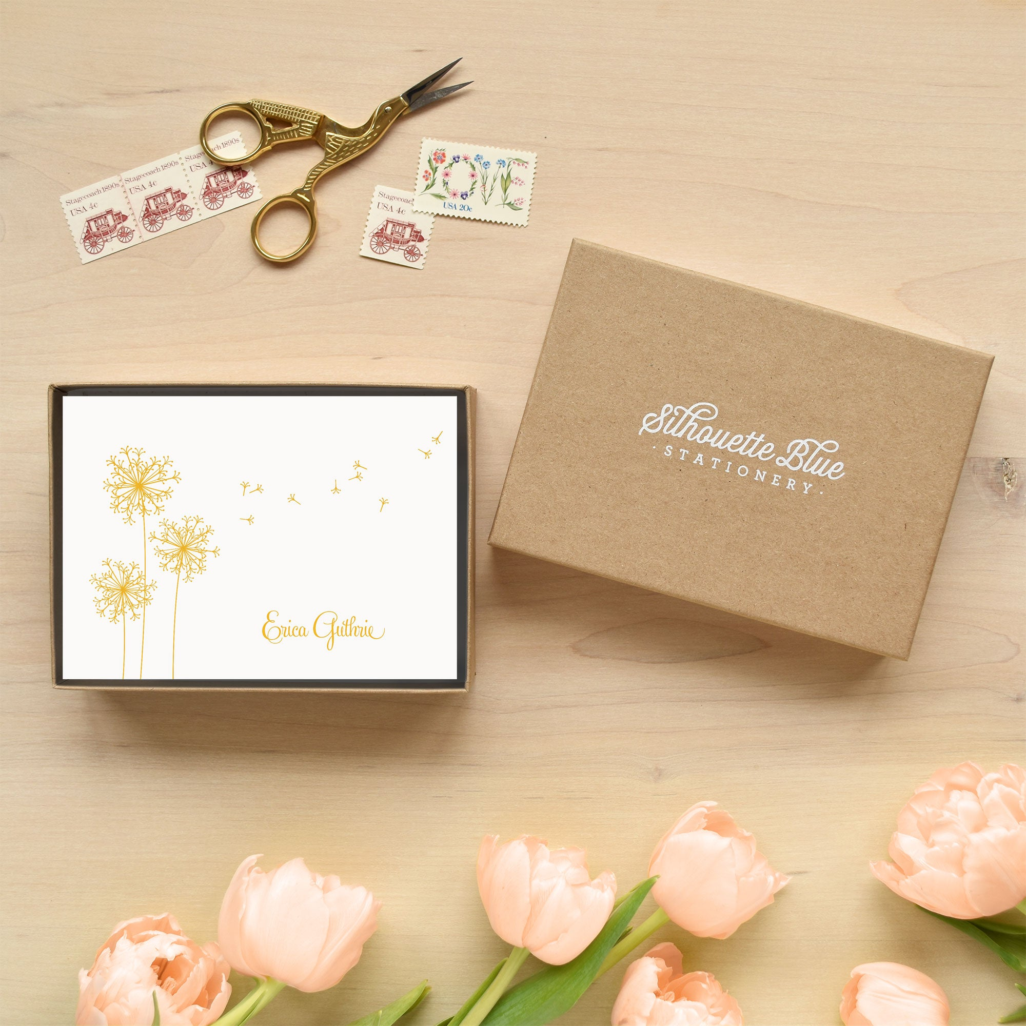 Breeze Personalized Stationery