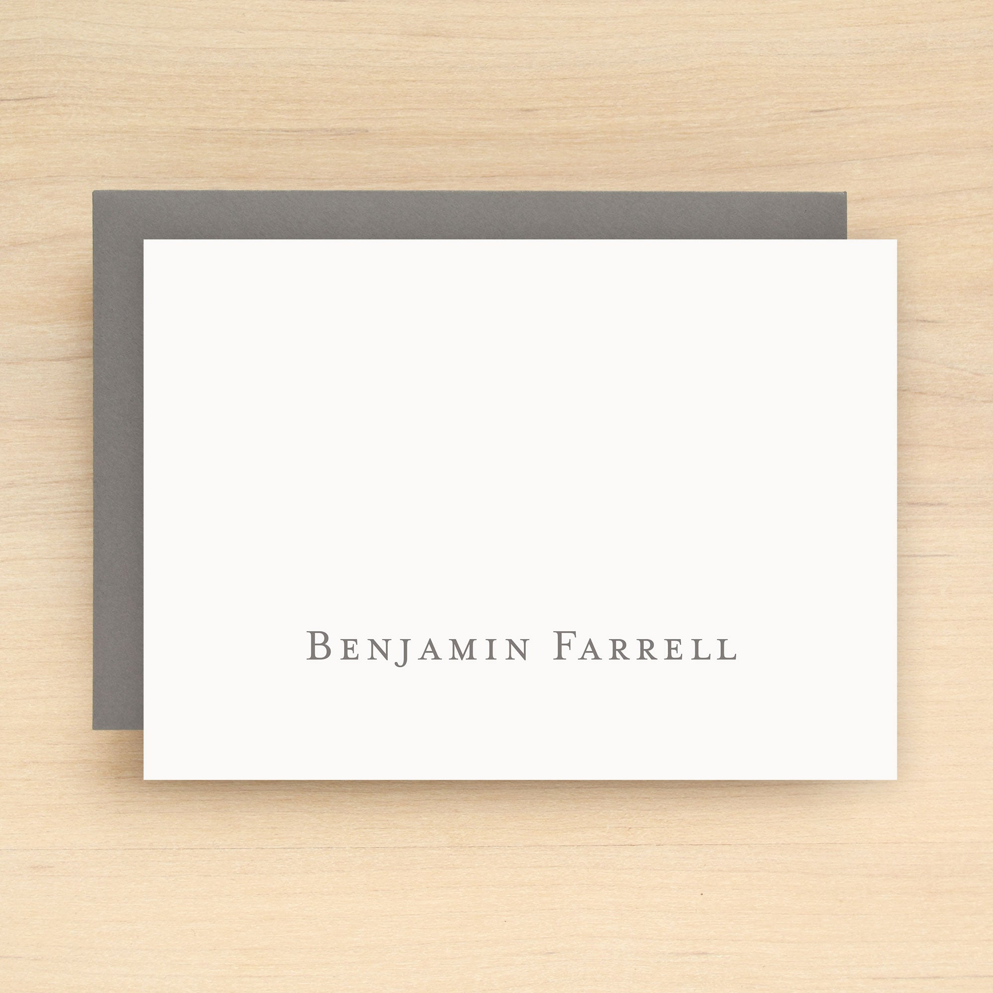 Classic Personalized Stationery Set