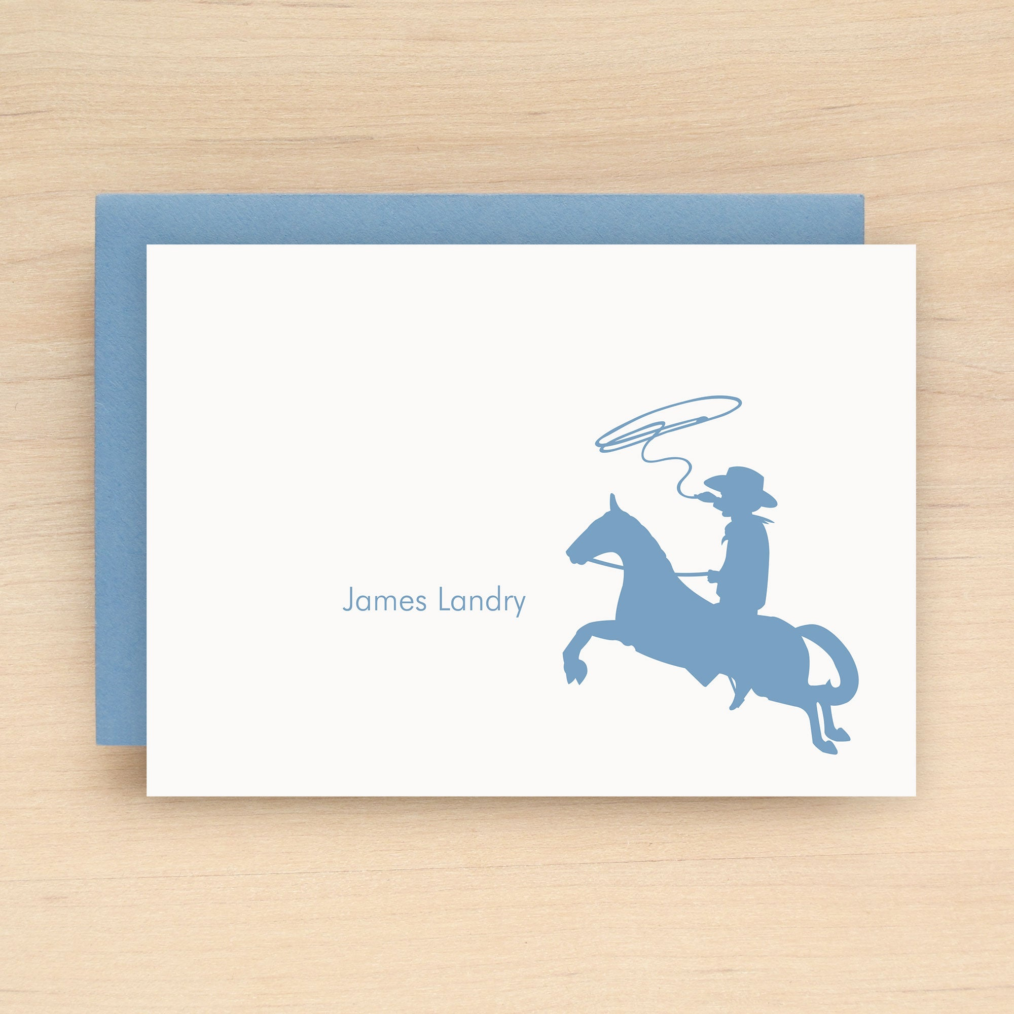 Cowboy Personalized Stationery