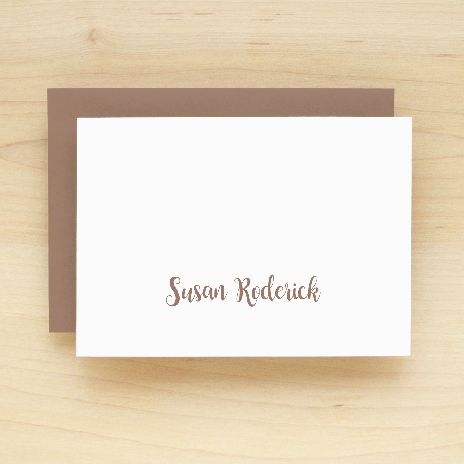 Craft Personalized Stationery