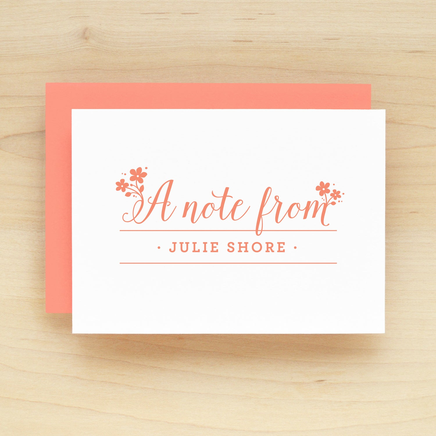Delight Personalized Stationery Set