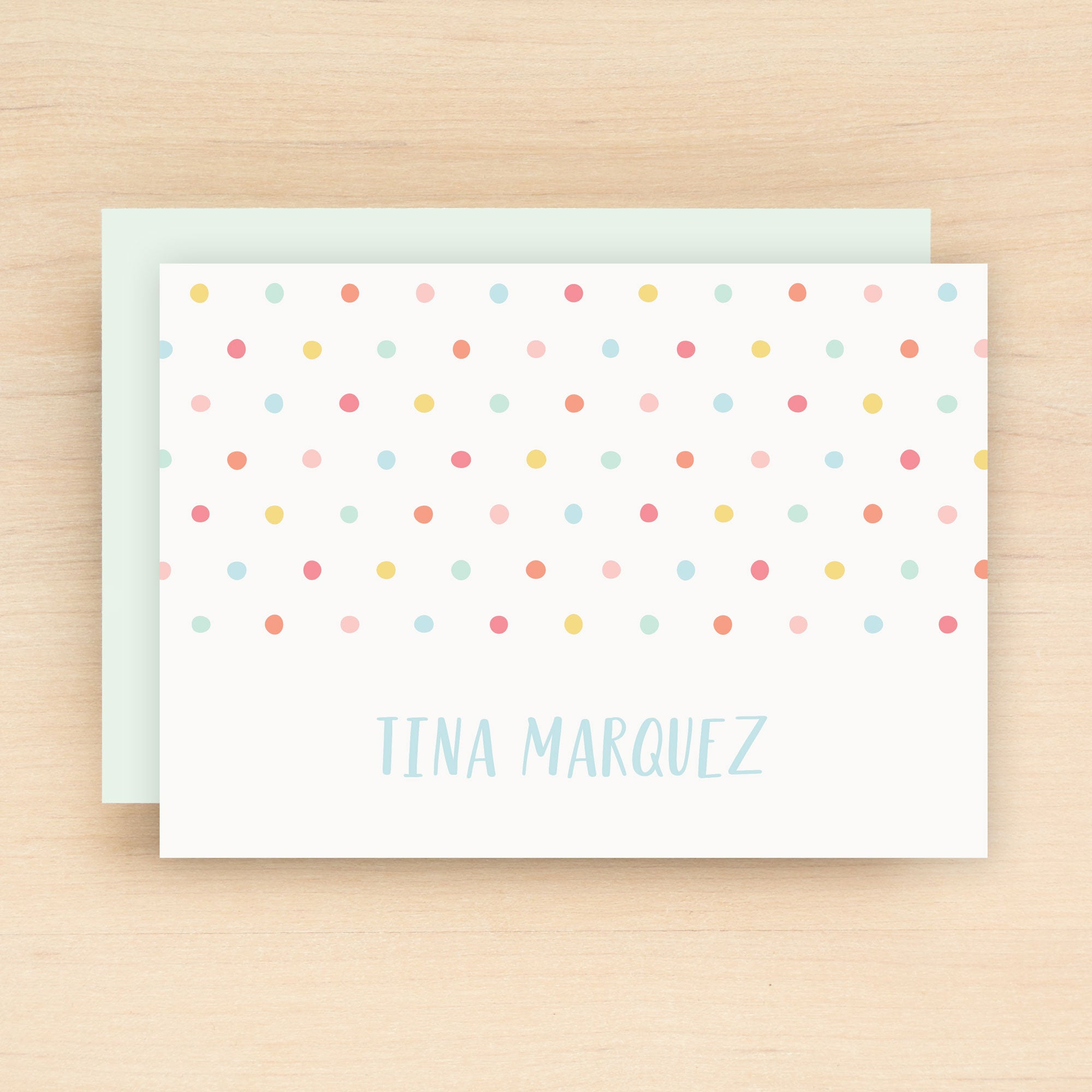 Dottie Personalized Stationery Set