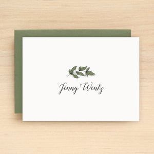 Elm Personalized Stationery
