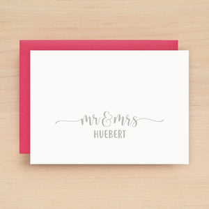 Evermore Personalized Stationery