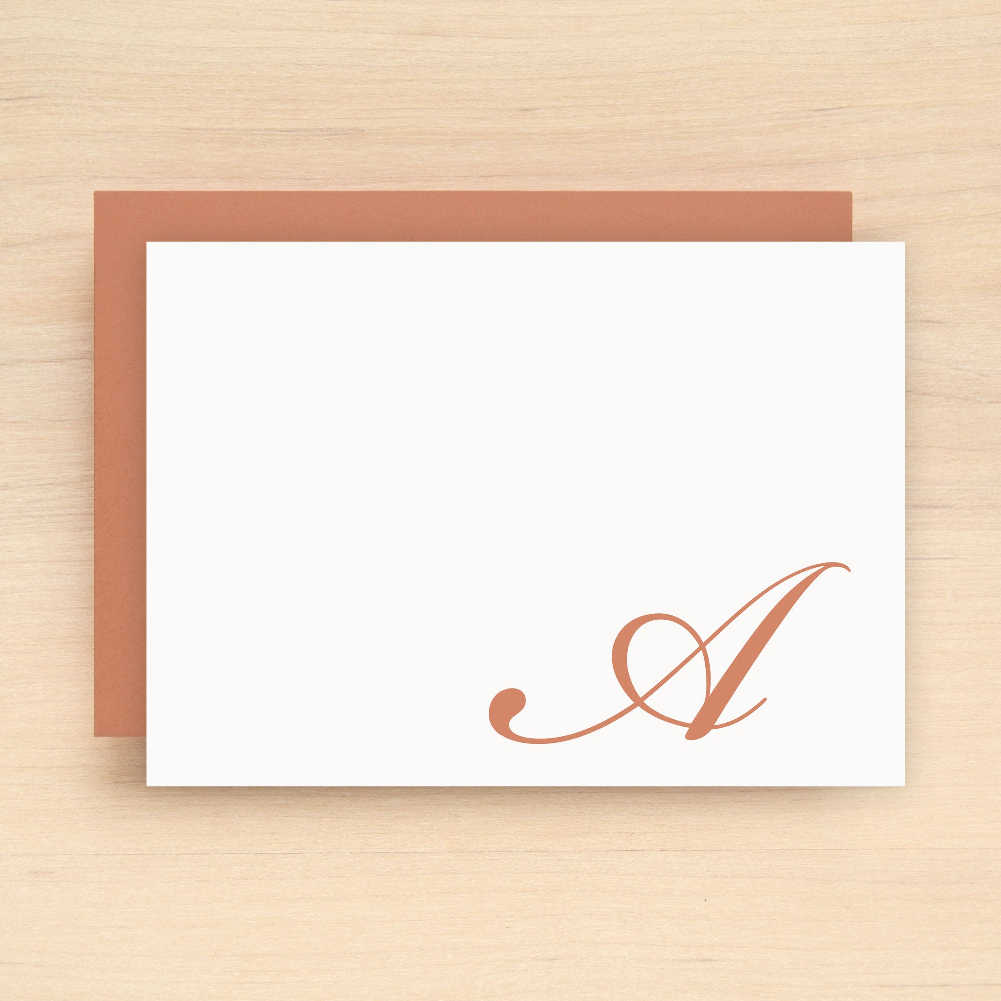 Flourish Personalized Stationery