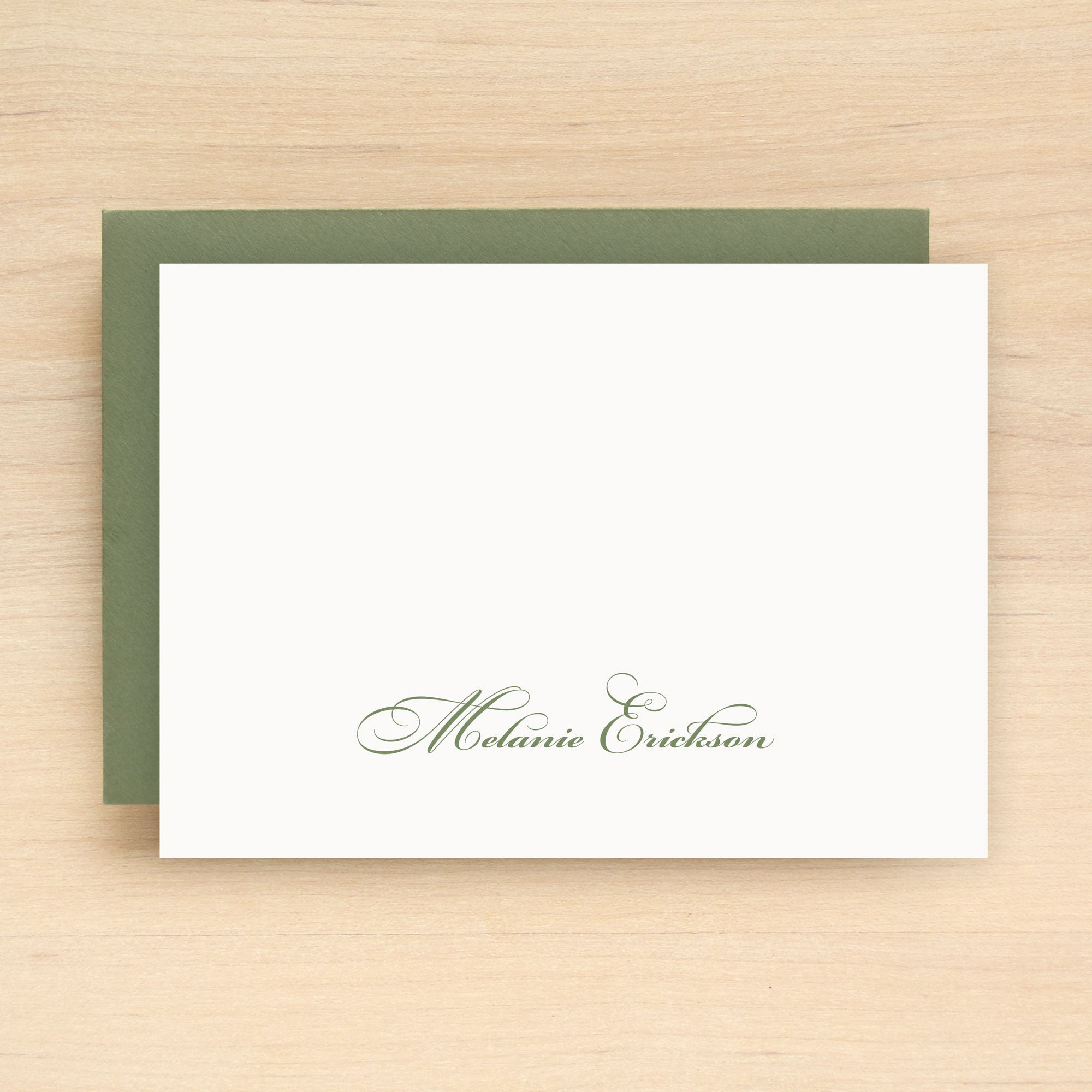 Fortune Personalized Stationery Set