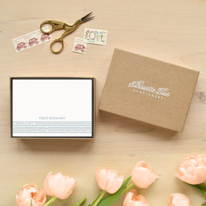 Fray Personalized Stationery