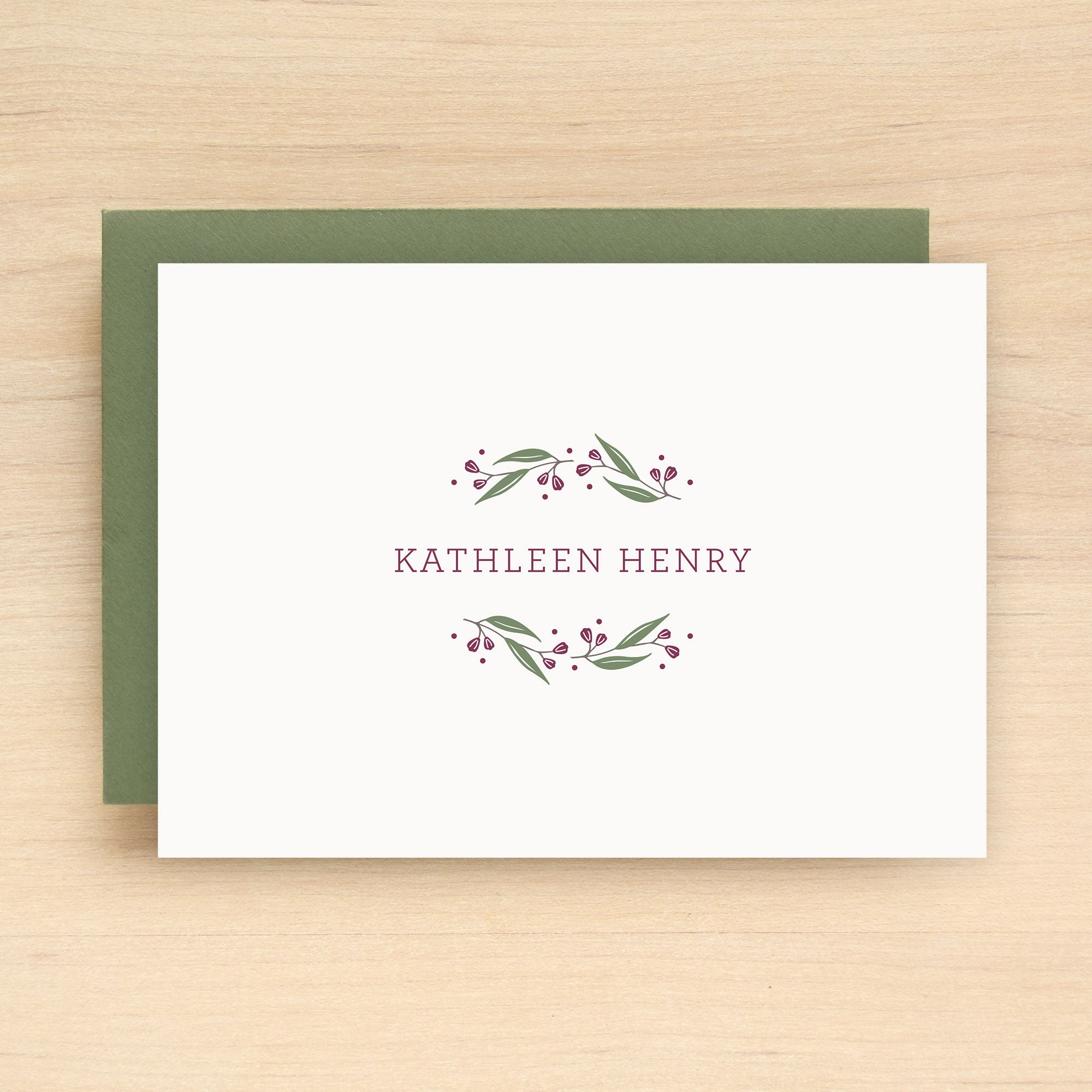 Frolic Personalized Stationery Set