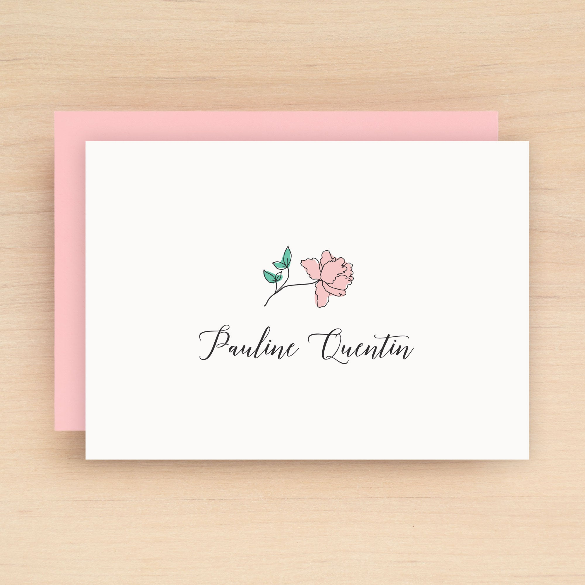 Garden Personalized Stationery