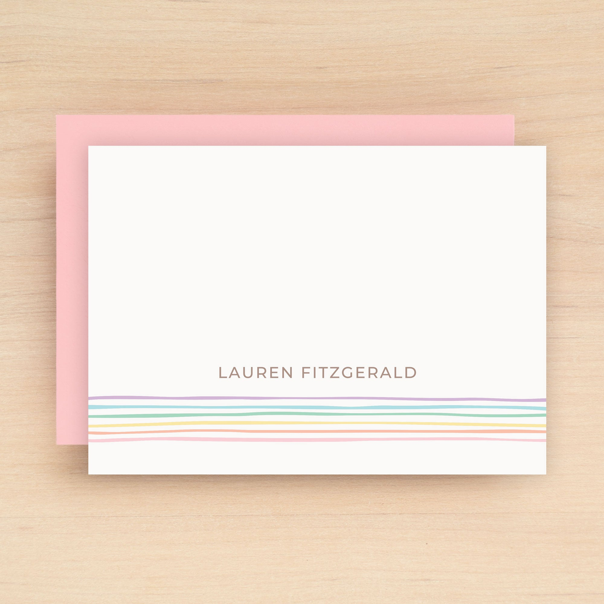 Glow Personalized Stationery Set