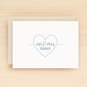 Heartfelt Personalized Stationery