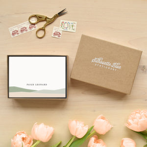 Hillside Personalized Stationery
