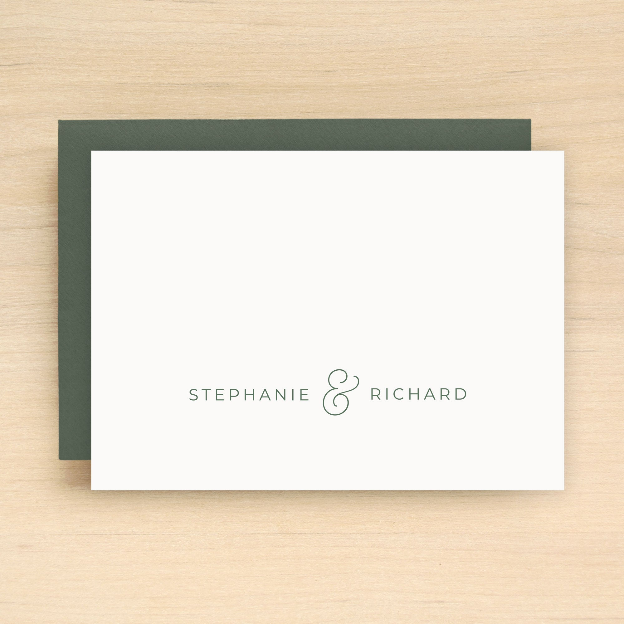 Jewel Personalized Stationery