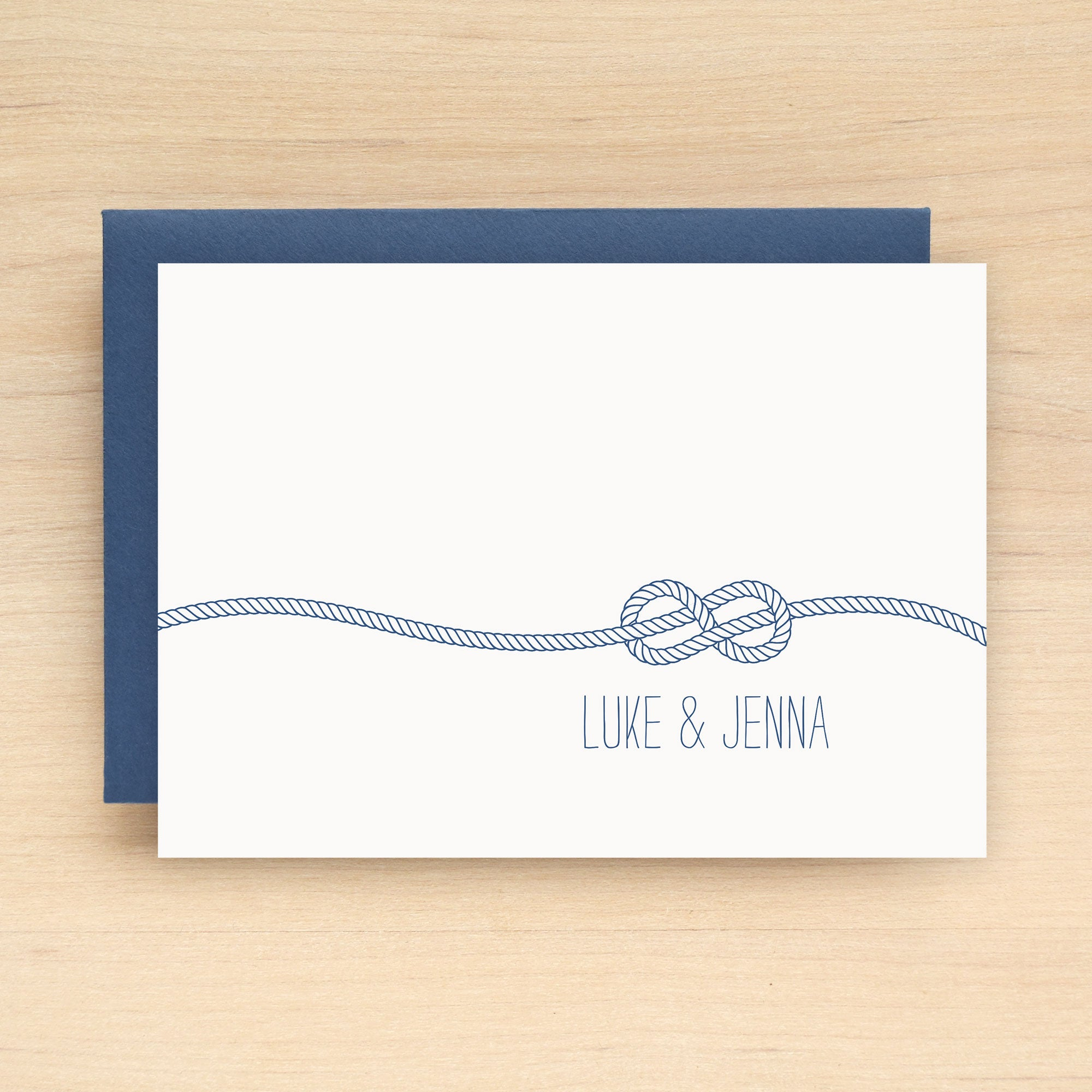 Knot Personalized Stationery