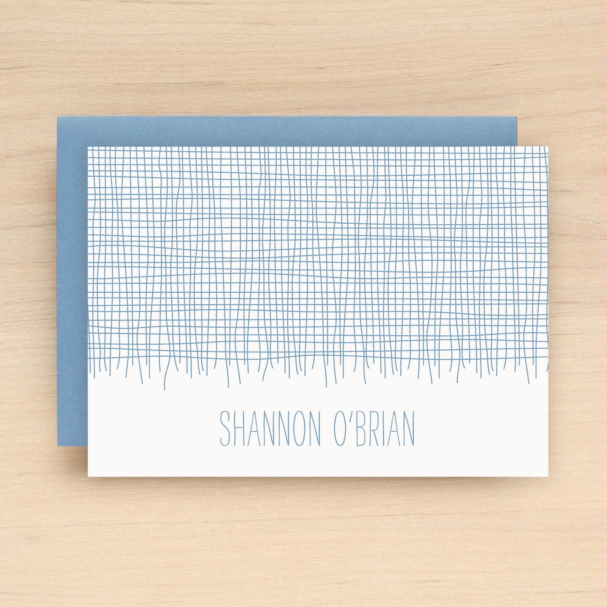Linen Personalized Stationery Set