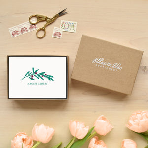 Lush Personalized Stationery