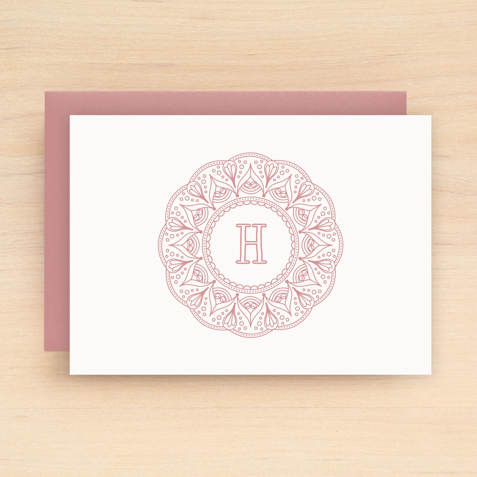 Mandala Personalized Stationery