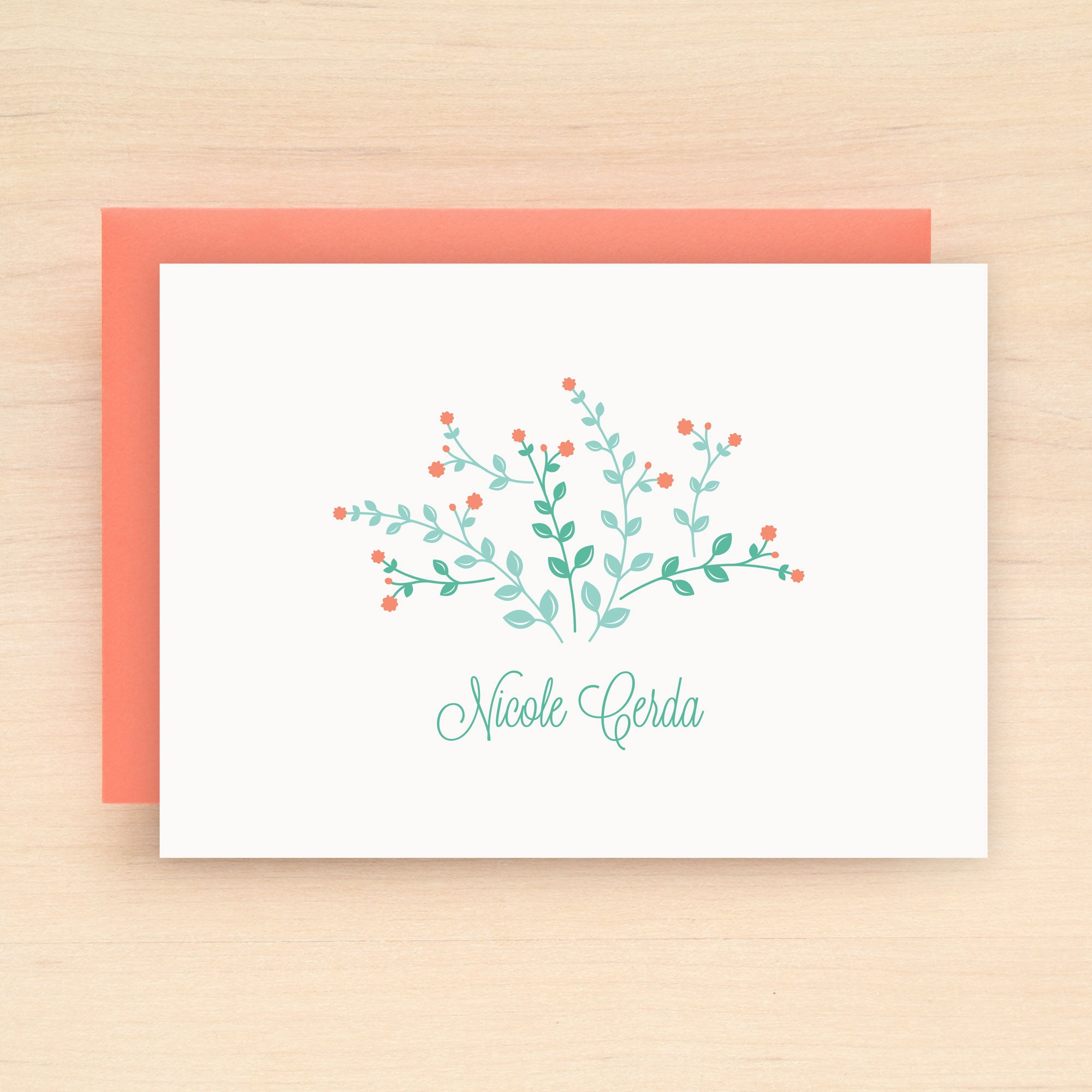 Meadow Personalized Stationery Set
