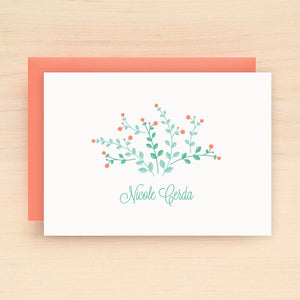 Meadow Personalized Stationery