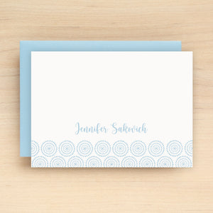 Medallion Personalized Stationery