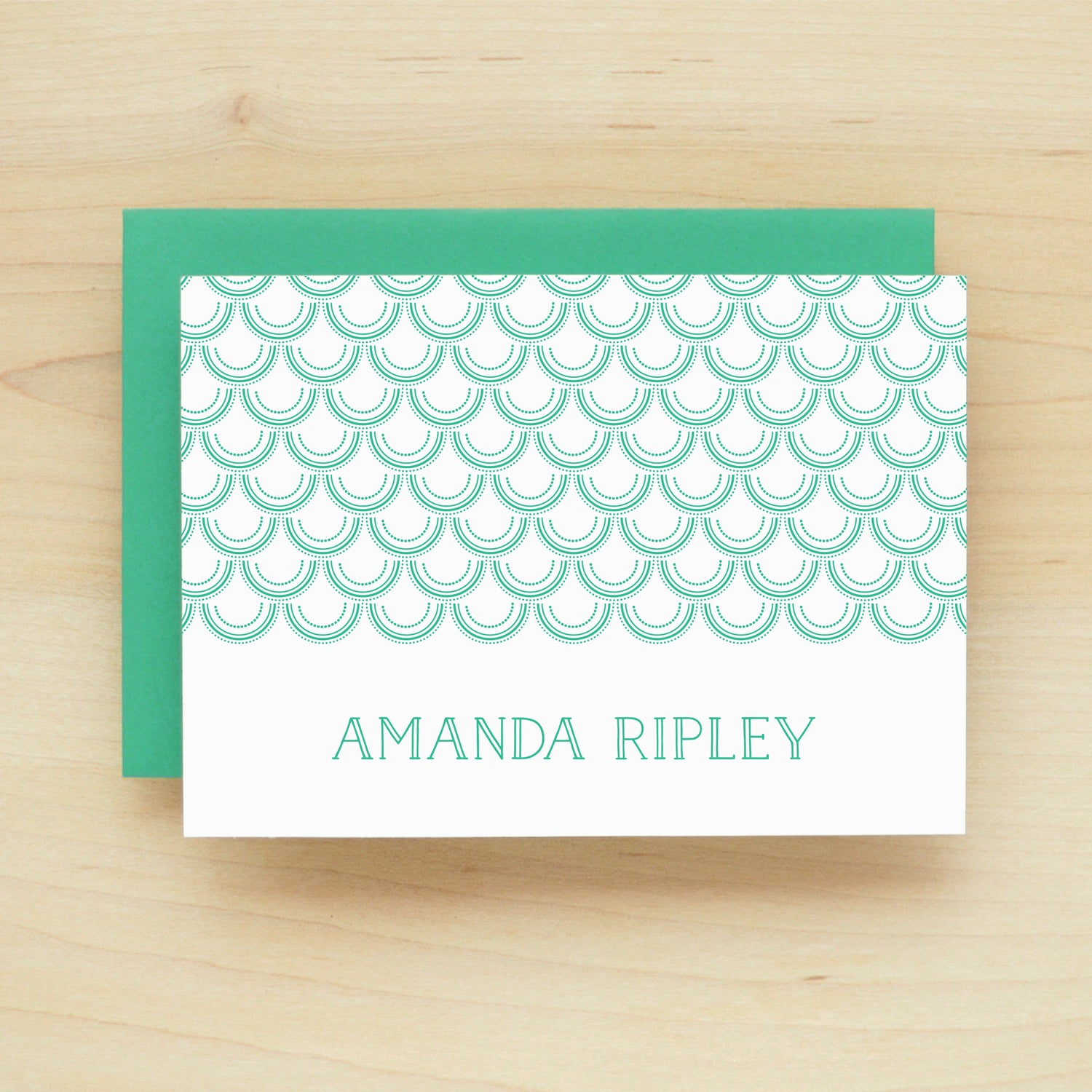 Mermaid Personalized Stationery