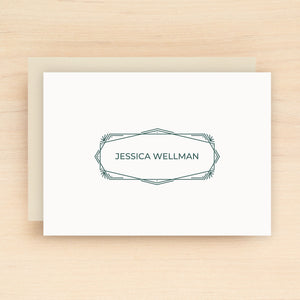 Mirror Personalized Stationery