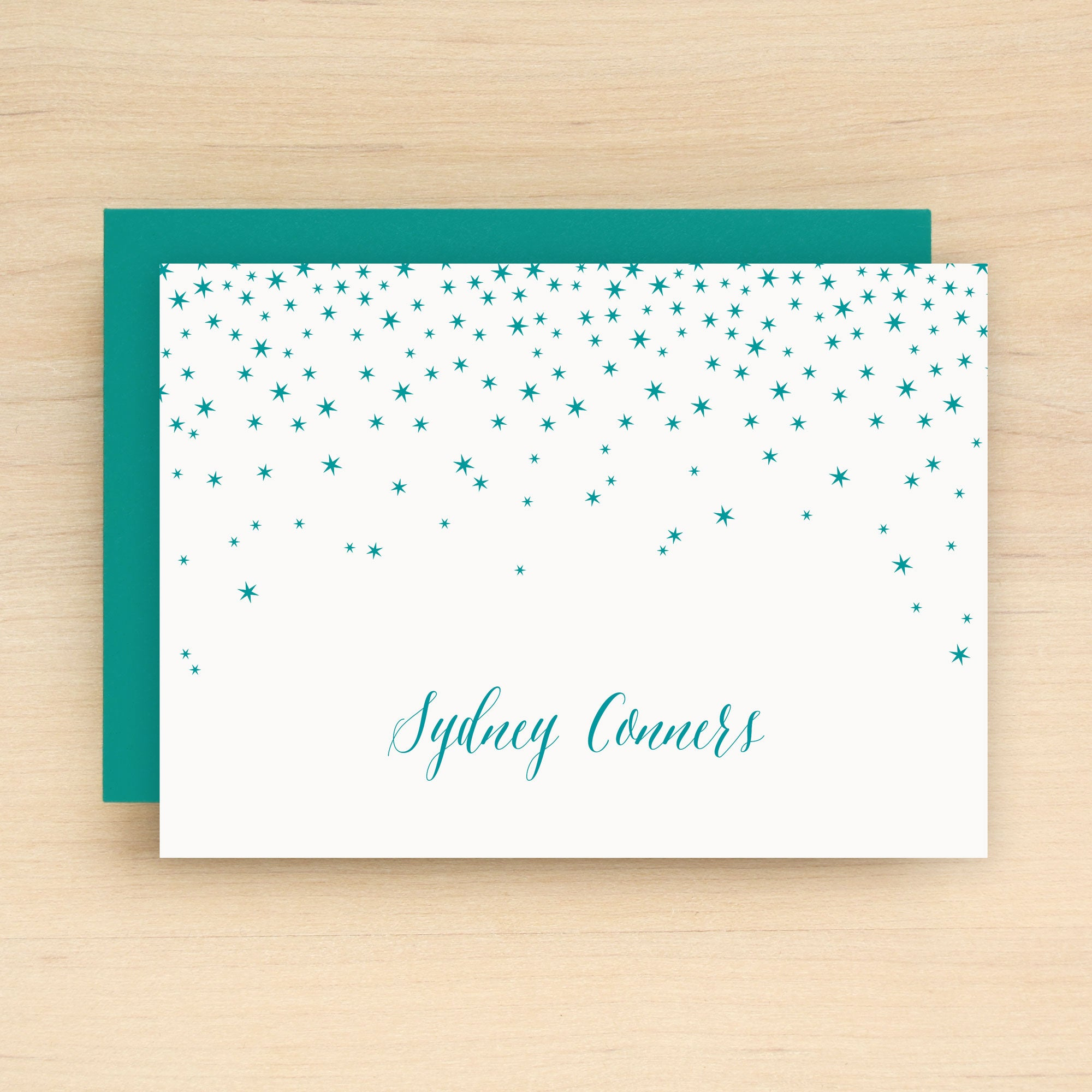 Night Personalized Stationery
