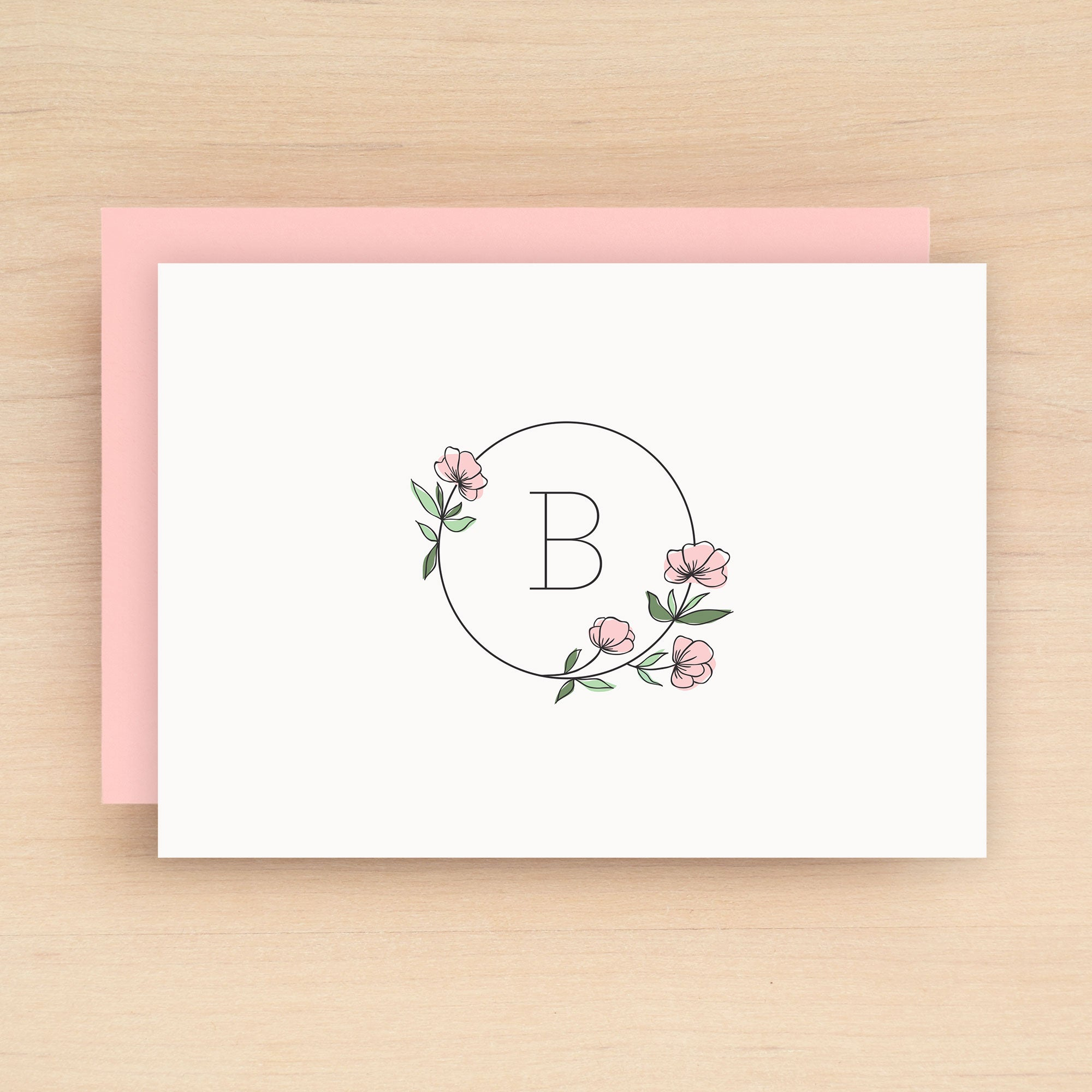 Poppy Personalized Stationery