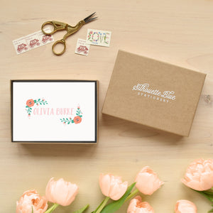 Posie Personalized Stationery