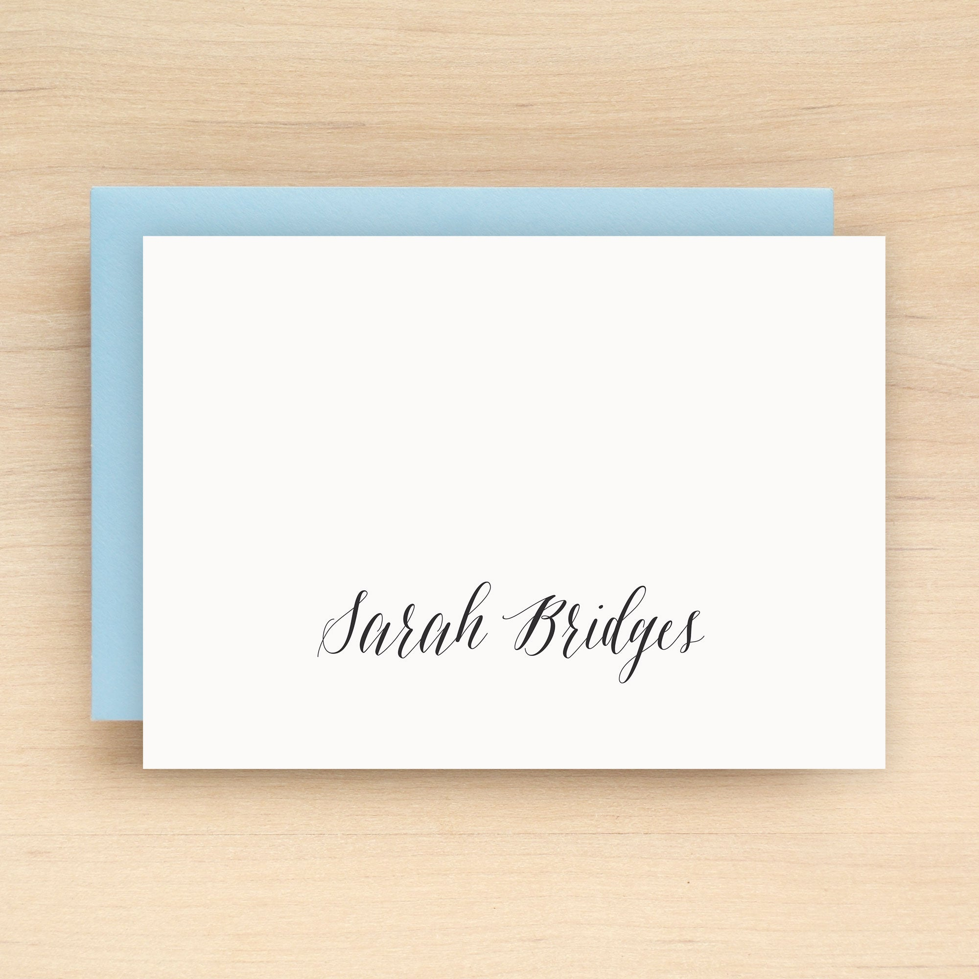 Script Personalized Stationery