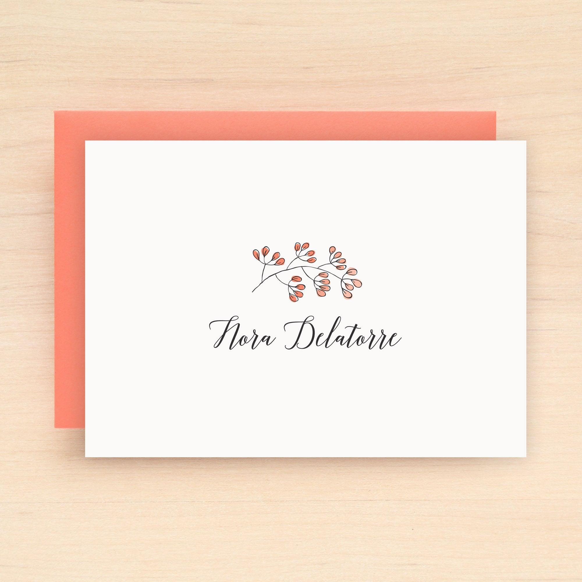 Seedling Personalized Stationery Set