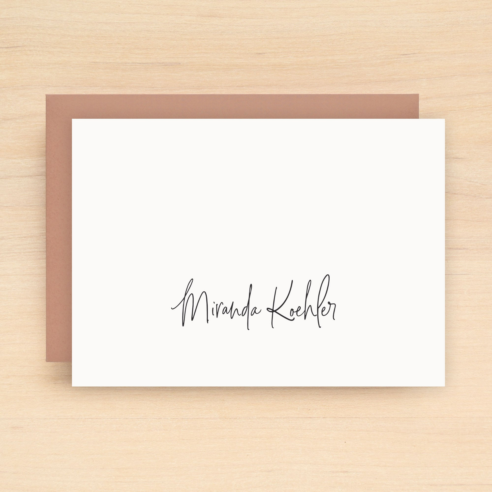Signature Personalized Stationery