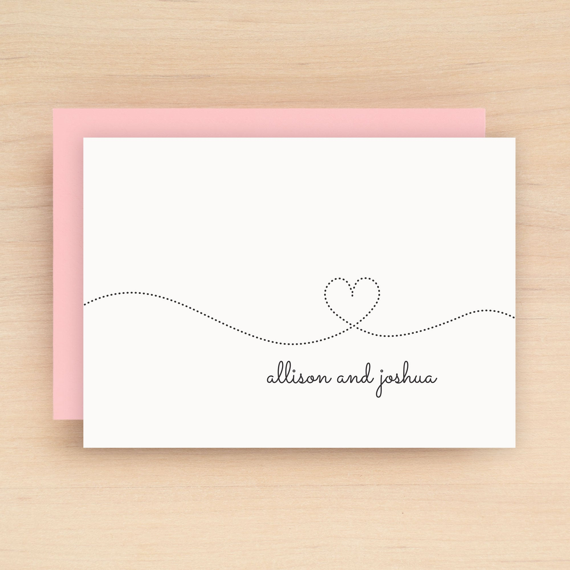 Smitten Personalized Stationery Set