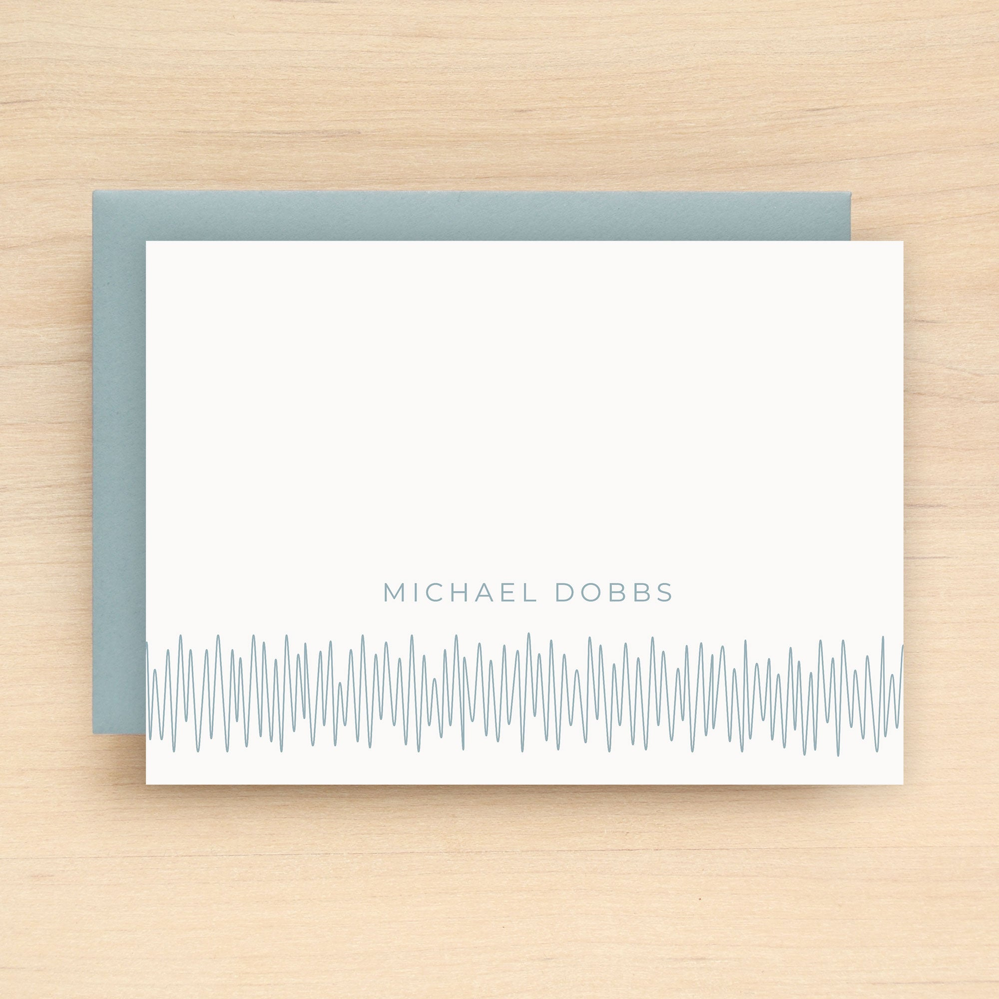 Soundwave Personalized Stationery