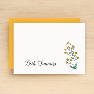 Spring Personalized Stationery