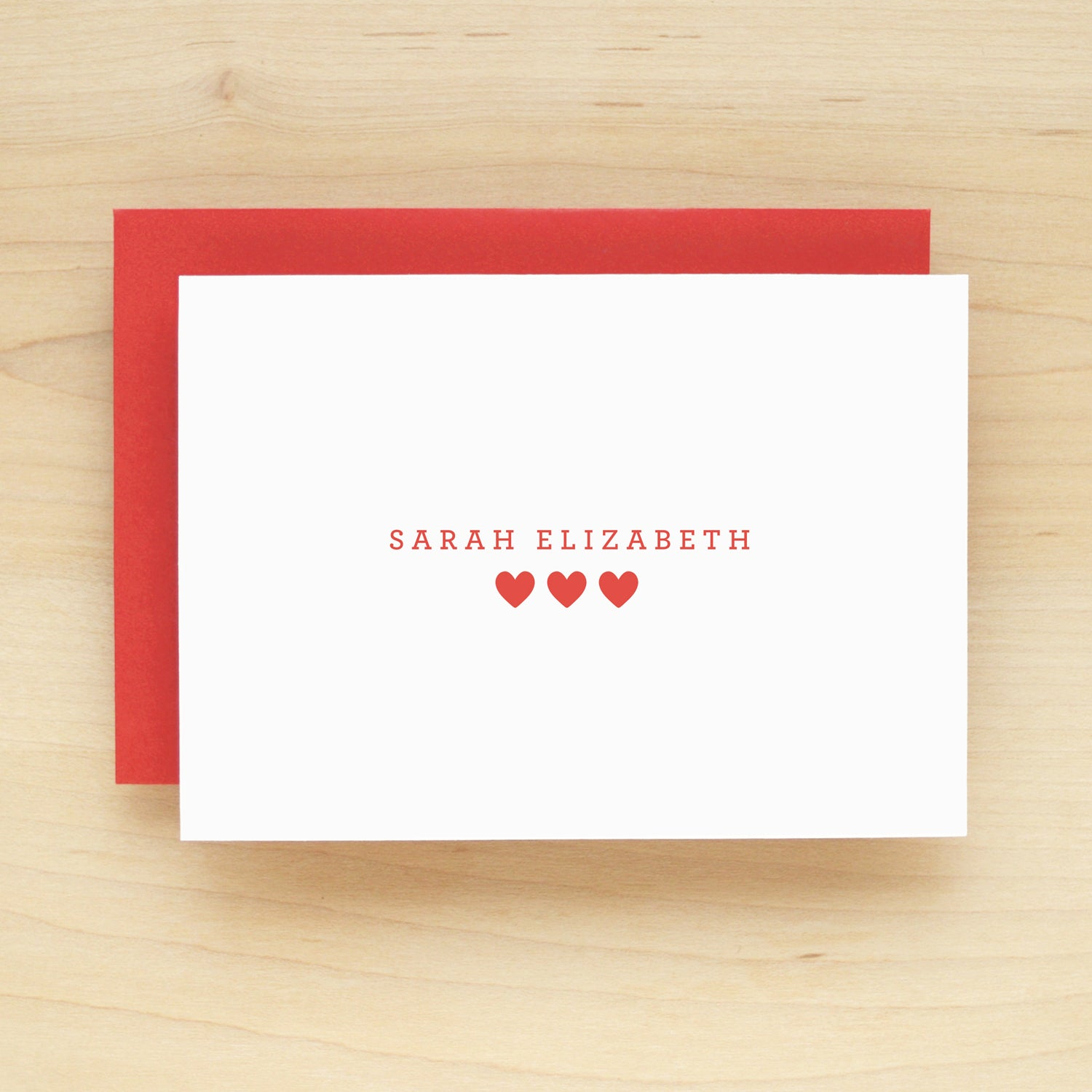 Sugar Personalized Stationery