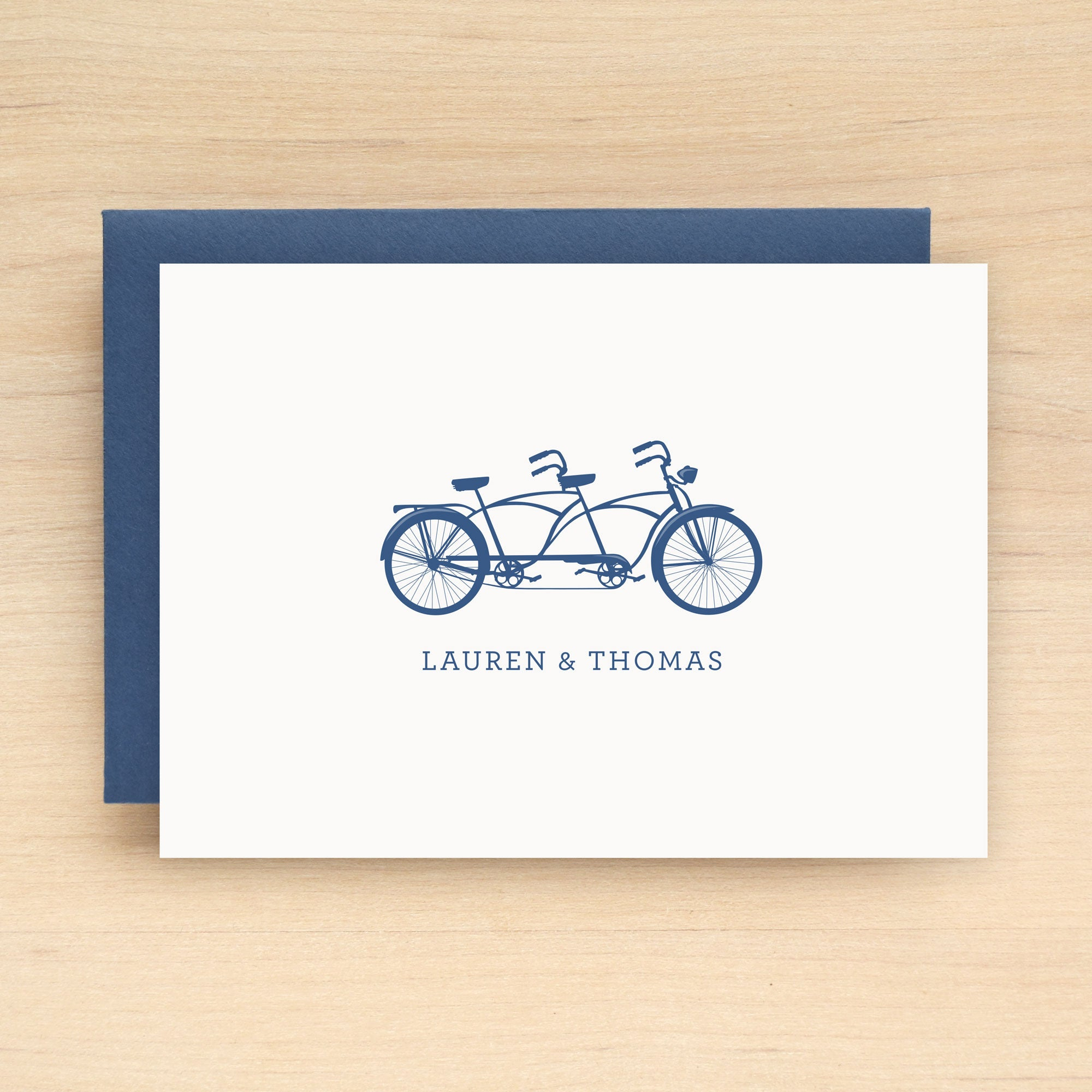 Tandem Personalized Stationery